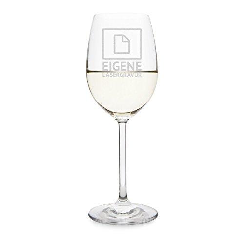 Leonardo Weißweinglas 370ml Individuelle Gravur Geschenk Weinglas - Eigene Gravur
