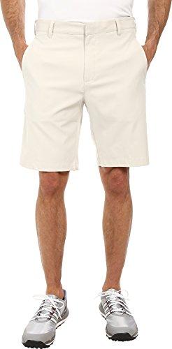 adidas Golf Men's Climalite 3-Stripes Shorts, Ecru, 40'