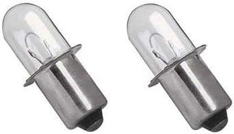 6 12v Volt Xenon KPR Bulb for Skil Krypton Bosch Dewalt DW9043 Milwaukee Work Light Flash Lights XPR