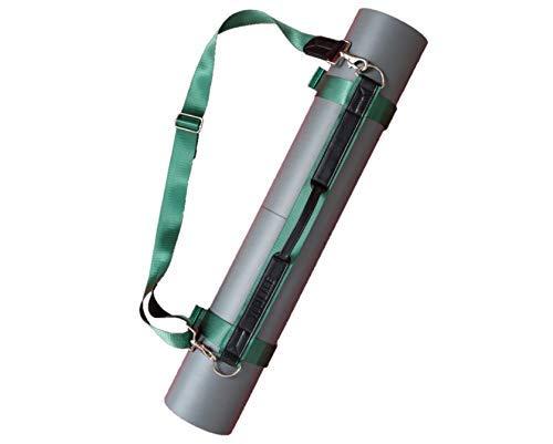 Yogi-Bare Arnés para Transportar Esterilla de Yoga - Ajustable para Todos LOS TAMAÑOS - Viaja con tu Esterilla de Yoga - Verde