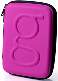 Glucology™ Diabetic Travel Case - Organizer Pack for Blood Sugar Test Strips, Medication, Glucose Meter, Pills, Tablets, Pens, Insulin Syringes, Needles, Lancets - Hard Shell - Standard, Matte Pink
