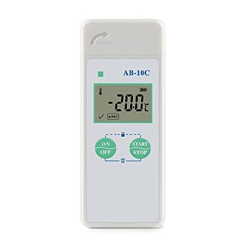 AB-10C USB-Temperaturdatenlogger Datenlogger-Rekorder Externer USB-Anschluss zum Exportieren von TXT-Daten Ntc Sensor-Datenlogger-Rekorder