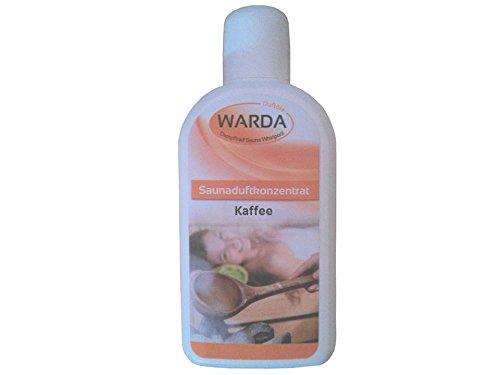 Saunaduftkonzentrat Kaffee 200 ml von Warda - Sauna-Aufguss Saunaduft Aromaduft Sauna-duft-konzentrat