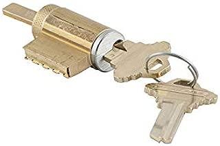 Schlage 21-020-C-626 Cylinder for AL Series Levers in C Keyway, 626 - Satin Chrome, Varies Metal