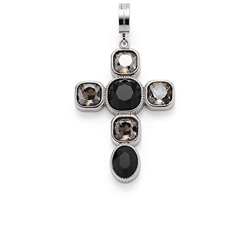 Leonardo Kreuz-Anhänger Venetta Clip&Mix Edelstahl 018760