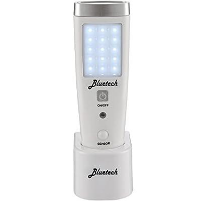 Bluetech LED Flashlight Night Light for Emergency Preparedness, Portable Unit with Motion Detection,Power Failure Light, ETL Approved Blackout Light