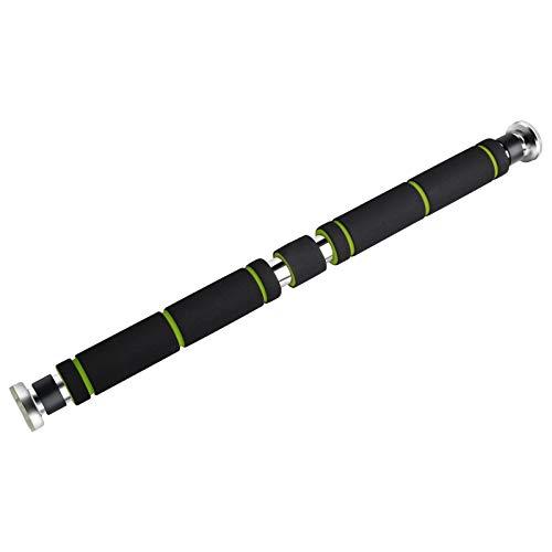 YISSVIC Barra per Trazioni da Porta 63-95cm Regolabile Carico 100-200kg in Accaio per Allenare la Muscolatura