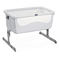 EASY ACCESS: The co-sleeping crib allows parents to keep the baby close during the night, ensuring better sleep and easy access to the baby thanks to the detachable side barrier. Travel bag included. 6-LEVEL HEIGHT ADJUSTMENT: Compatible with most be...