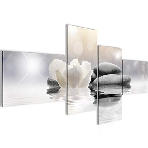 Quadro XXL Fiori Tulipani 200 x 100 cm Stampa D'Arte Murale Tela Non Tessuta Decorazione Soggiorno Camera Da Letto 506041a