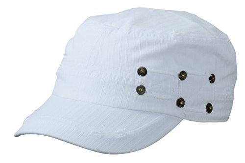 MYRTLE BEACH Casquette Militaire a Chevrons (White)