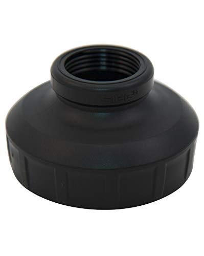 SIGG WMB Adapter Black (One Size), Ersatzteil für SIGG Trinkflasche mit Weithalsöffnung, auslaufsicherer Verschluss für WMB Trinkflaschen