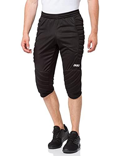 JAKO TW de Capri Striker Portero Pantalones (Todas Las Longitudes), Todo el año, Infantil, Color Negro, tamaño 164