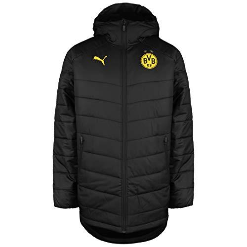 PUMA Borussia Dortmund Bench Winterjacke Herren schwarz/gelb, S