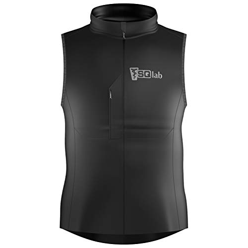 SQlab ONE11 SQ-Vest Chaleco Ciclismo, Adultos Unisex, Negro, XS