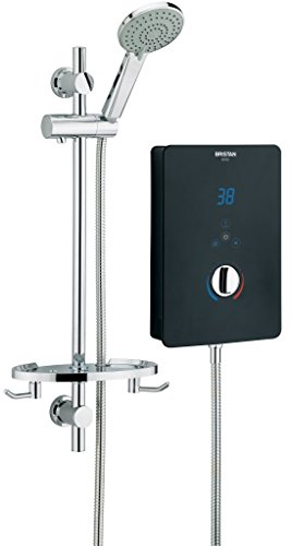 Product Image of the Bristan BL3105 B 10.5 kW Bliss 3 Electric Shower - Black