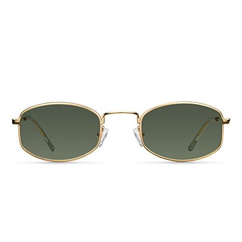 MELLER - Suku Gold Olive - Gafas de sol para hombre y mujer