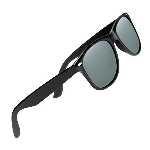 CHEREEKI Polarisierte Sonnenbrille Klassisch Retro UV400 Schutz Brille für Herren Damen (Grün)