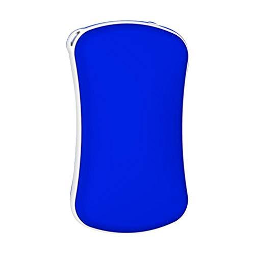 Generic NSB Compact Portable Mini USB Deux-en-Un Chauffage Charge trésor réchauffe-Mains des Deux côtés Chauffage Auto-Chauffage Chauffage artefact Puissance Mobile 2400mAh Rose/Bleu-Bleu