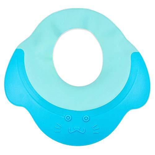 Volking Bonnet de Douche de bébé, Chapeau de visière de Bonnet de Bain imperméable réglable, Chapeau de Protection de Bain de Douche de shampoing pour bébé, bébé, Enfants, Enfants