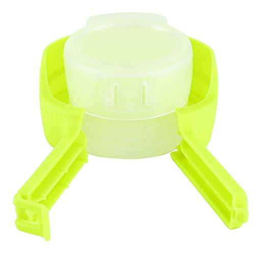 Clip de bolsa de alimentos - Clip de bolsa de almacenamiento de alimentos portátil para el hogar Clip de sellado de aperitivos de viaje Accesorio de herramientas de cocina 1 Uds(Verde)