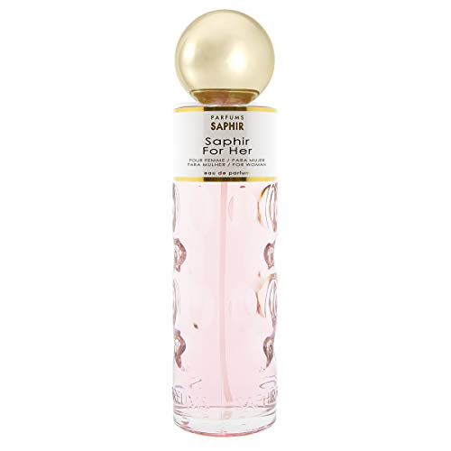 PARFUMS SAPHIR For Her - Eau de Parfum con vaporizador para Mujer XXL - 400 ml