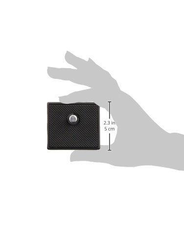 【セット買い】HAKUBA4段三脚W-312シルバー+クイックシューW-312用セット