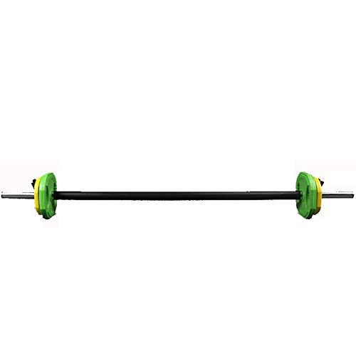 Bilancieri regolabili - Bilanciere aerobico Set - Piastre di bilanciere colorate con 1.4 metri Barra...