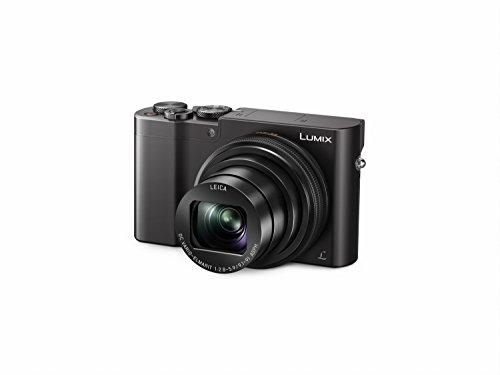 Panasonic Lumix DMC-TZ100 - Cámara digital compacta (20.1 MP, 5472 x 3648 píxeles, MOS, 10x, 4K Ultra HD), color negro, versión francesa