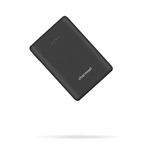 Charmast Mini Powerbank 10400mAh Cargador Portátil Batería Externa Carga Rápida[18W PD/USB Type-C] Batería Portátil QC3.0 con 2 Entradas&3 Salidas para iPhone, Android, Tablet,Macbook