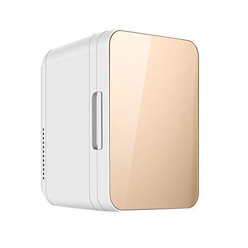 Mini-Kühler mit doppeltem Verwendungszweck für Autos und Privathaushalte, 8-Liter-Gefrierschrank, energiesparender und energiesparender Multifunktions-Elektrokühler, geräuscharmerund trockener Betri