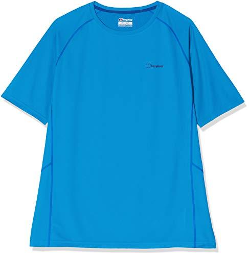 Berghaus UK 2.0 T-Shirt Technique à Manches Courtes pour Homme XS Bleu Brillant