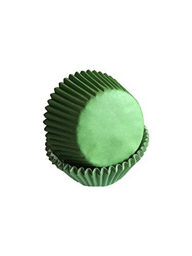 Tasty Cooky Shop Lot de 50 caissettes à muffins en papier vert