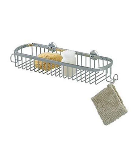 Great Price! Valsan Nova Wall Mounted Sponge Basket Finish: Chrome