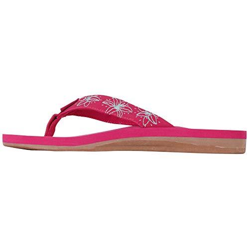 Kappa Lagoon, Chanclas Mujer, Rosa (Pink/Mint 2237), 39 EU