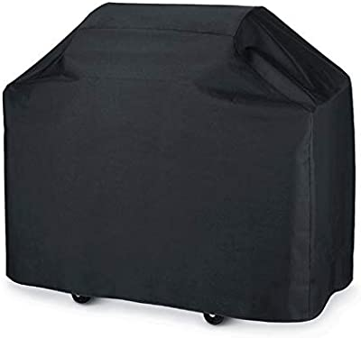 SISO 72 inch Waterproof BBQ Cover Large Heavy Duty Gas Grill Cover UV Fade Rip Resistant Sized for Weber