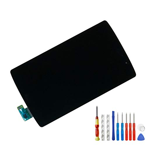 Melphyreal Replacement LCD Touch Compatible with LG Verizon G Pad X 8.3 VK815 Screen Display Digitizer Full Assembly Parts with Frame + Adhesive + Tools