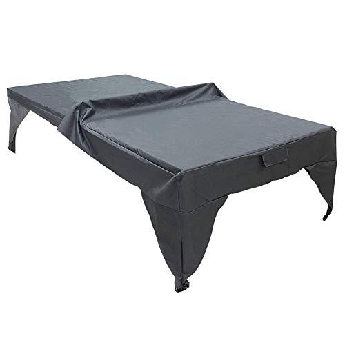 Zchui - Funda para mesa de pingpong, cubierta impermeable para exteriores, fácil...