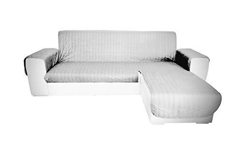 Marta Marzotto Funda para sofá Evolution, chaise longue universal, chaise longue izquierda/derecha, chaise longue color liso pintado, 250 cm