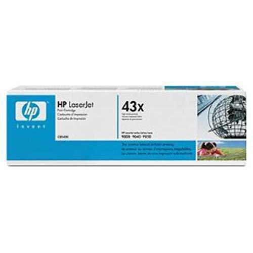 Hp 43x black high yield laserjet toner cartridge c8543x (C8543X)