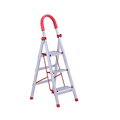 MJY Escalera de Aluminio Multipropósito, Escalera de Barand