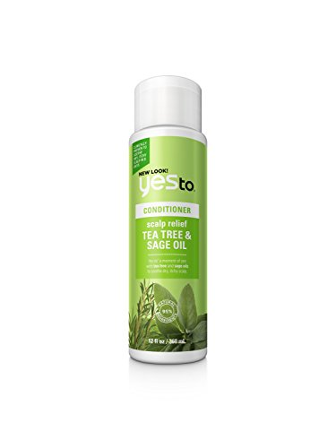 Yes To, Naturals Tea Tree Scalp Relief Conditioner Sofens Hair Provides Long Lasting Moisture , 12 fl oz