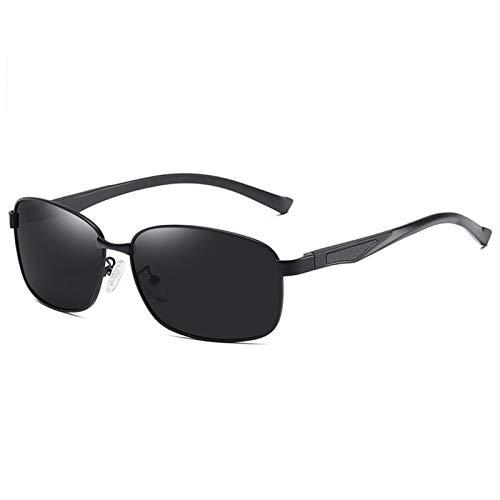 SSN Gafas De Sol para Hombres Gafas Anti-ultravioletas Gafas De Sol Lentes Polarizadas De Moda Conduciendo Conductores Especiales De Moda (Color : A)