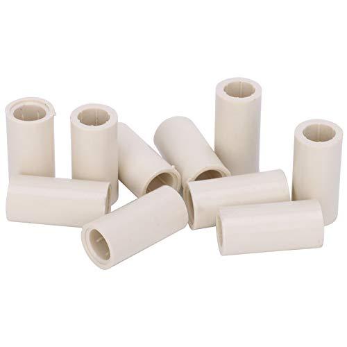 DAUERHAFT Platz Nicht einnehmen Cue Stick Ferrules Fasermaterial Pool Cue Ferrules Einfach zu verwenden, zum Reparieren von Werkzeugen, für den Cue Head(1 inch, 12mm)