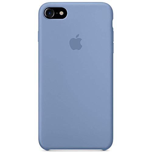 Kekleshell iPhone 8 Silicone Case 4.7', iPhone 7 Silicone Case, Soft Liquid Silicone Case with Soft Microfiber Cloth Lining Cushion -4.7inch (Azure)