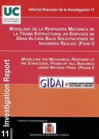 Modelado de la respuesta mecánica de la trama estructural en edificios de gran altura bajo solicita