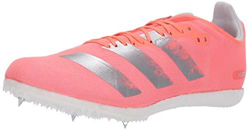 adidas Zapatillas de correr Adizero Avanti unisex para adultos, naranja (Señal coral/plateado metálico/blanco), 38.5 EU