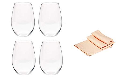 Riedel rode wijnglas 0414/30 set van 4 voor rode wijn zoals Syrah en Shiraz O Wine Tumbler