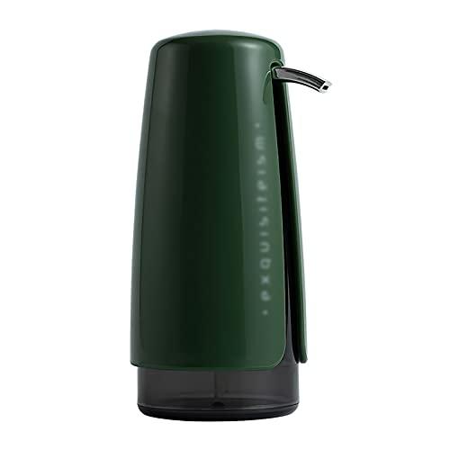 MARMODAY Botella dispensadora de viaje 420ml champú cosmético ducha loción mano botella vacía prensa verde