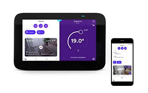 Homix - Smart Home Hub con Alexa Integrata + Termostato Intelligente (riscaldamento autonomo)