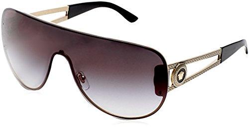 Versace Sonnenbrille VE2166-12528G-99 Groß Sonnenbrille 99, Schwarz